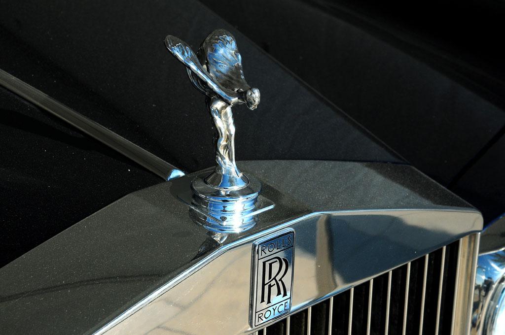 Original Rolls Royce Hood Ornament Rolls Royce Corniche Hood