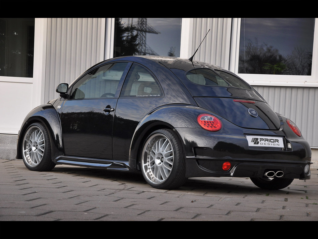 Prior Design Vw New Beetle Gt3 Rear Bumper And Side Skirts