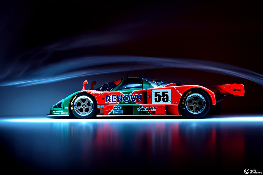 Lighting 787b Just Messing Around With My Autoart 787b