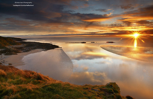 Sunrise Reflections - Dumfries and Galloway Life February 2012 | by .Brian Kerr Photography.