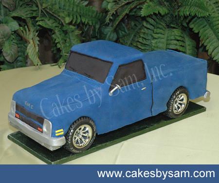 Birthday Cake Pickup Truck
