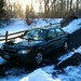 Mazda in the Snow