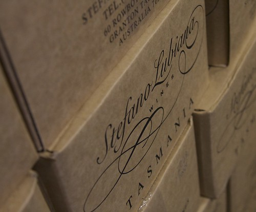 Stashes of Stephano Lubiana wines | by Pauline Mak