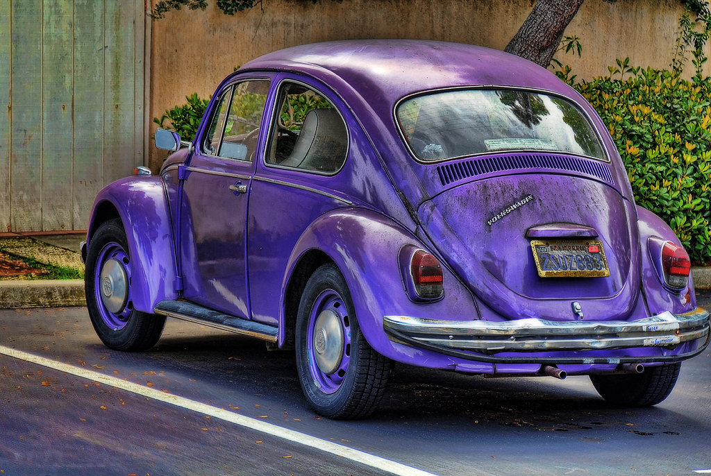 Volkswagen Beetle A Purple Bug All My Images On Fluidr