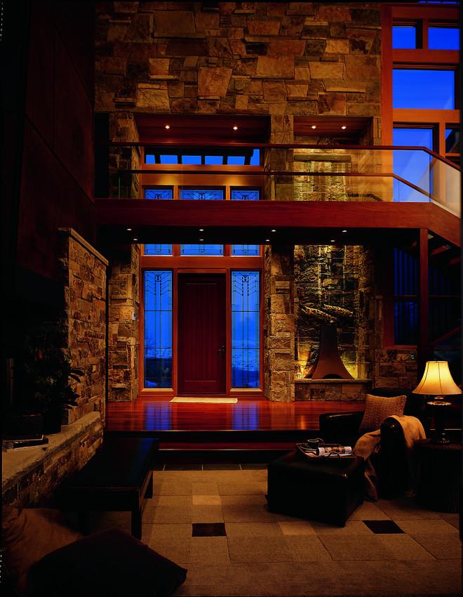 400 series art glass frank lloyd wright series eucalypt for Andersen windows art glass