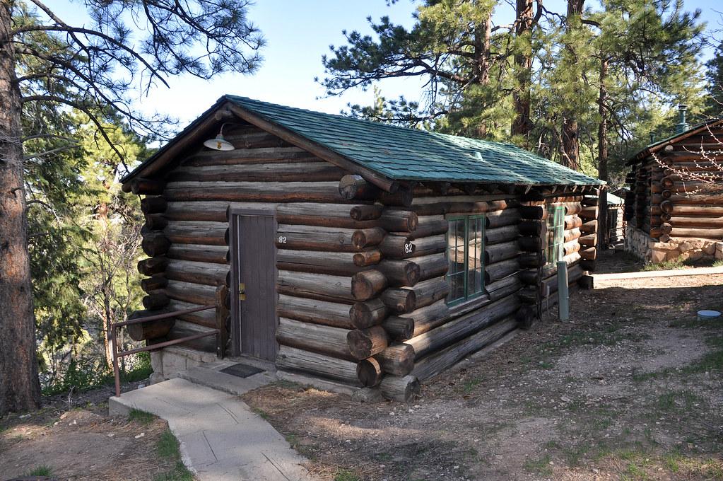 Grand Canyon Lodge North Rim Frontier Cabins 0435 Grand