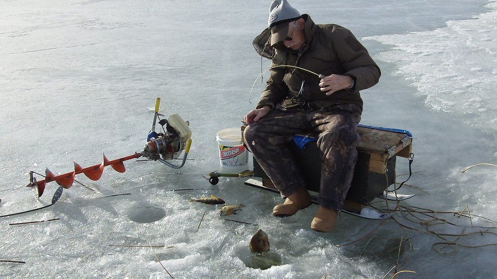 Ice fishing ice fishing is one of the winter activities for White mountain fishing report