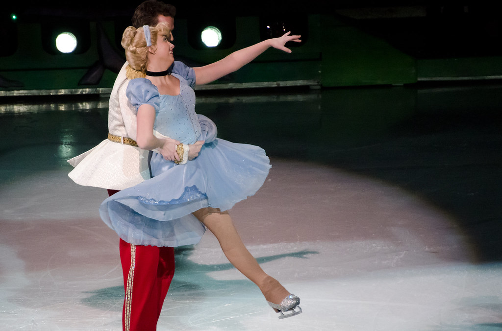 Cinderella Embraced By Prince Charming Ice Skating Flickr