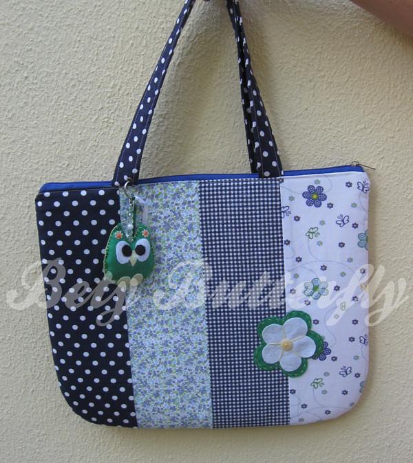 Bolsa De Tecido Vintage : Bolsa de tecido para notebook patchwork com chaveirinh