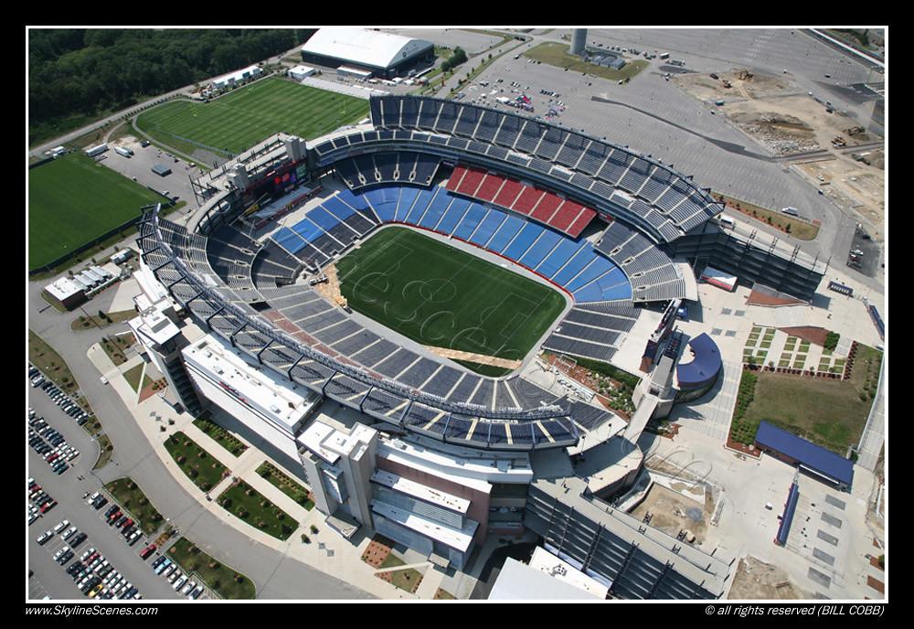 Gillette Stadium Boston Gillette Stadium Boston Aeial