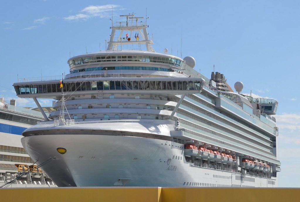 Explore The Beauty Of Caribbean: Cruise Ship - P&O Cruises Azura