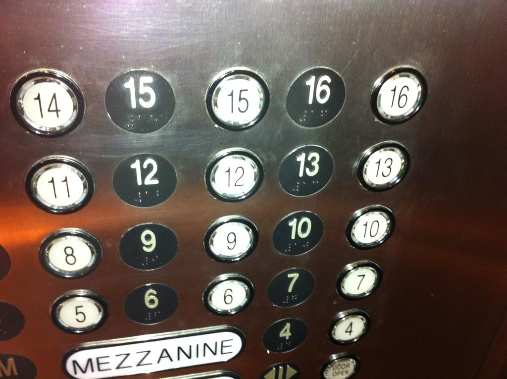 This hotel labeled their 13th floor 13 i 39 m impressed for 13th floor in hotels history