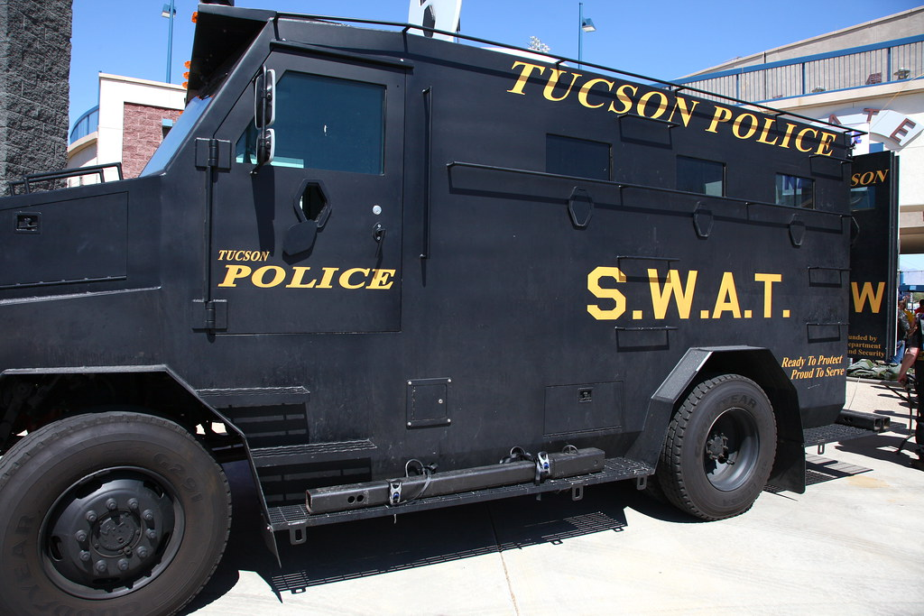Tucson Police SWAT truck | Fitted with bullet resistant ...