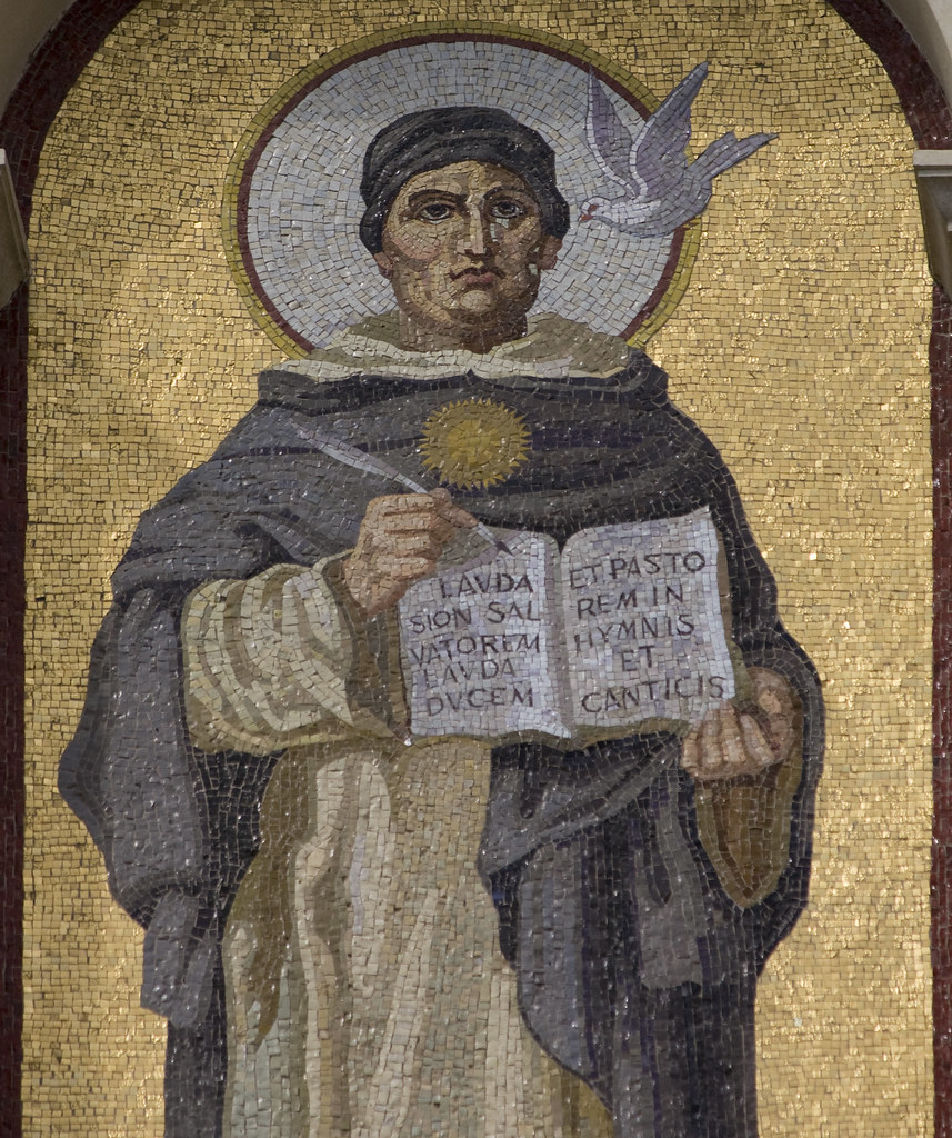 the proofs of gods existence according to st thomas aquinas St thomas aquinas and st anselm use logic and philosophical arguments from greek thinking to prove the existence of god however, st anselm's concept of god does seem to resonate with aquinas' fourth proof, the idea that perfection in the imagination must exist in reality.