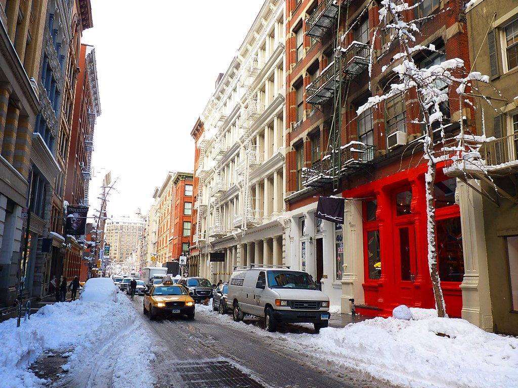 Soho New York Schoudertas : Soho new york city view my