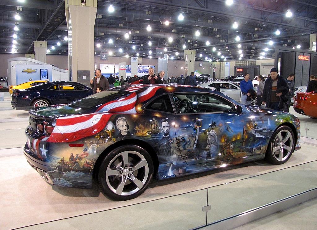 Custom All Stars >> Philadelphia Car Show 2011 Patriotic Chevrolet Camaro | Flickr