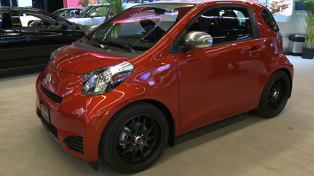 Toyota's Scion iQ: Microcar for North America | This funky m… | Flickr