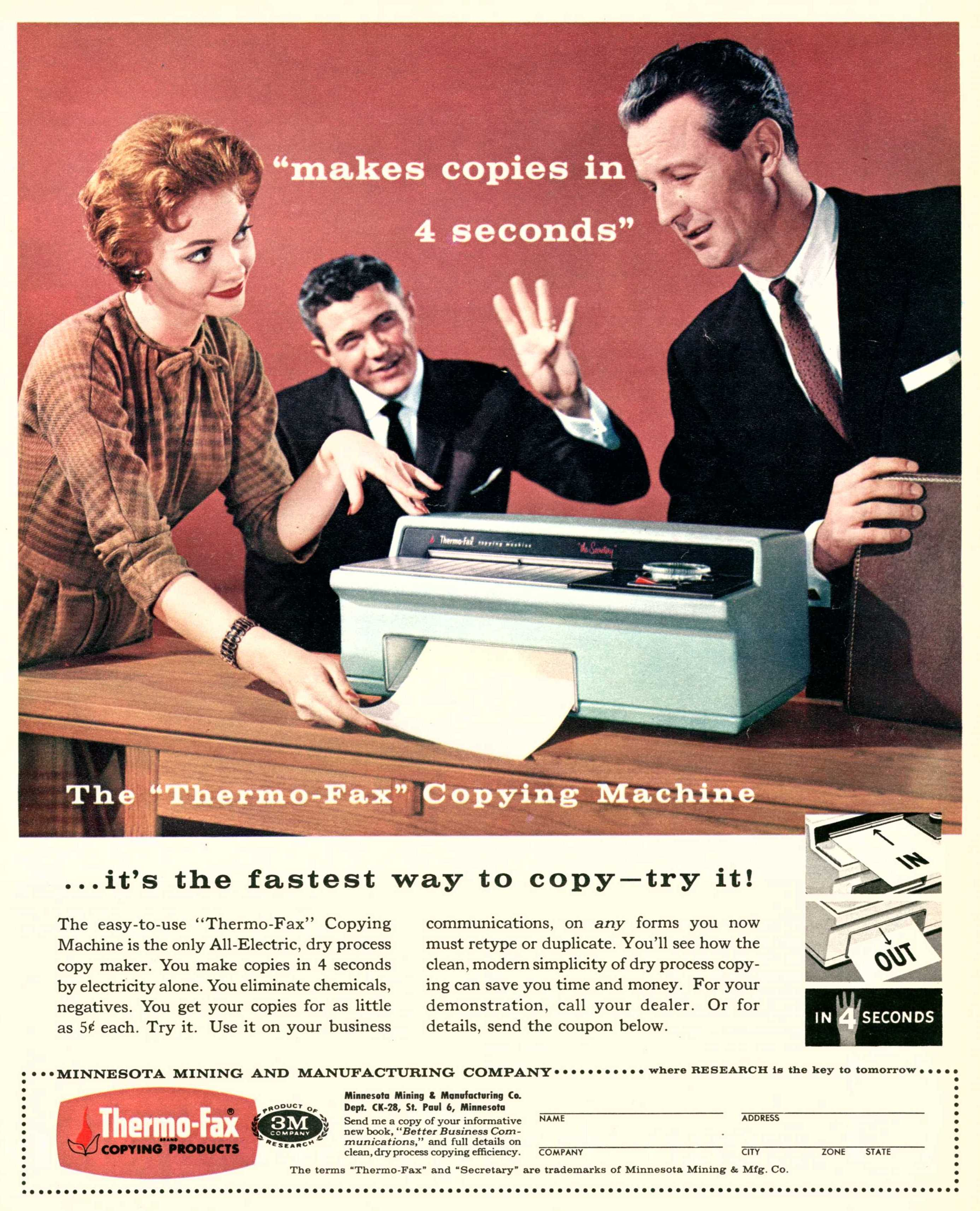 Thermo-Fax/3M - 1958