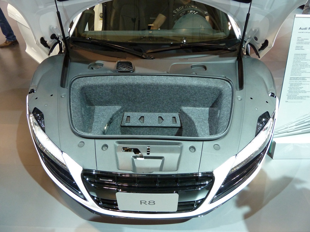 The Trunk Space Of Your Audi R8 That S It Just
