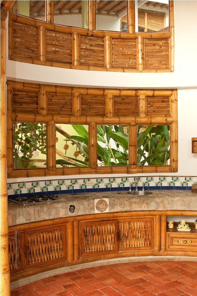 Dise os de cocinas con guadua www - Disenos de cortinas para cocina ...