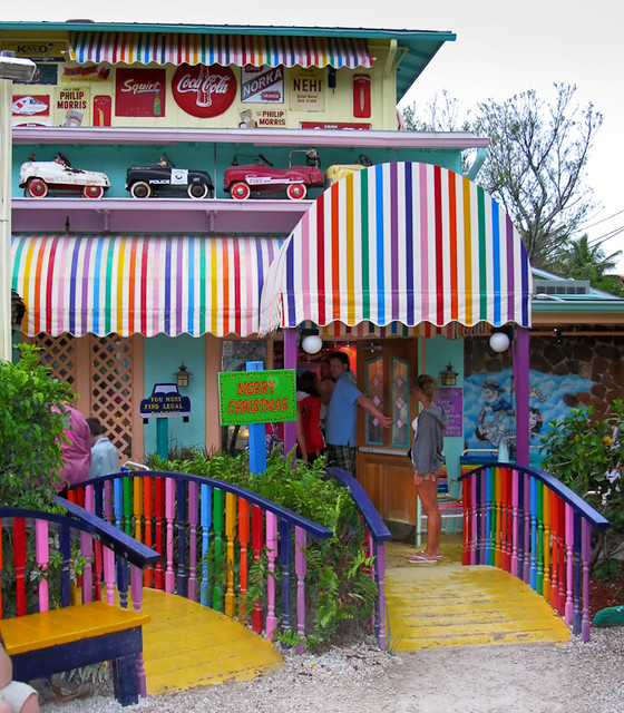 Places To Visit In Florida In April: The Bubble Room, Captiva Island, Florida (0522)