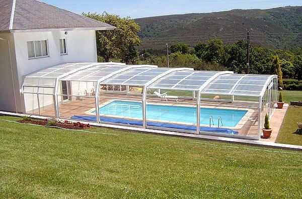 Cubiertas para piscinas movil adosadas pipor 05 en este for Pipor piscinas