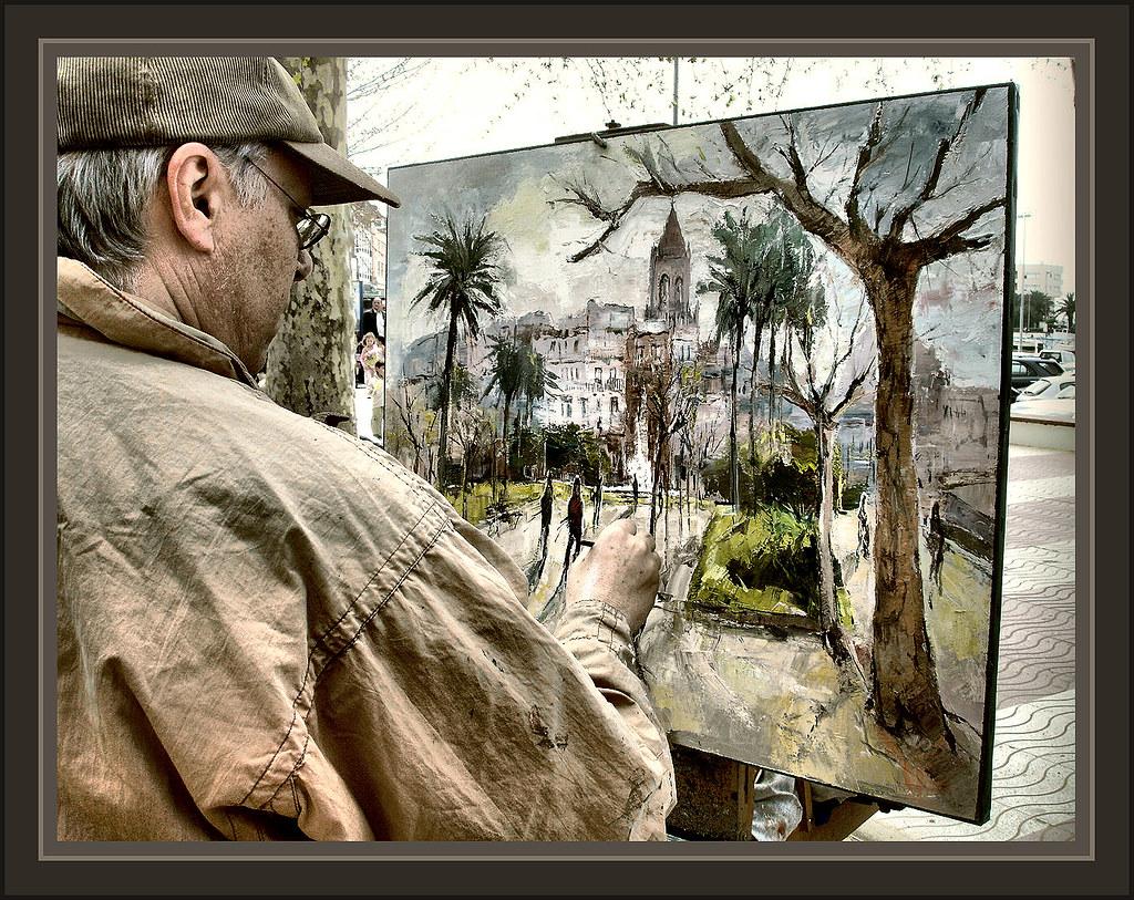 Palamos girona paisajes fotos pintor pinturas ernest desca - Pintores en girona ...