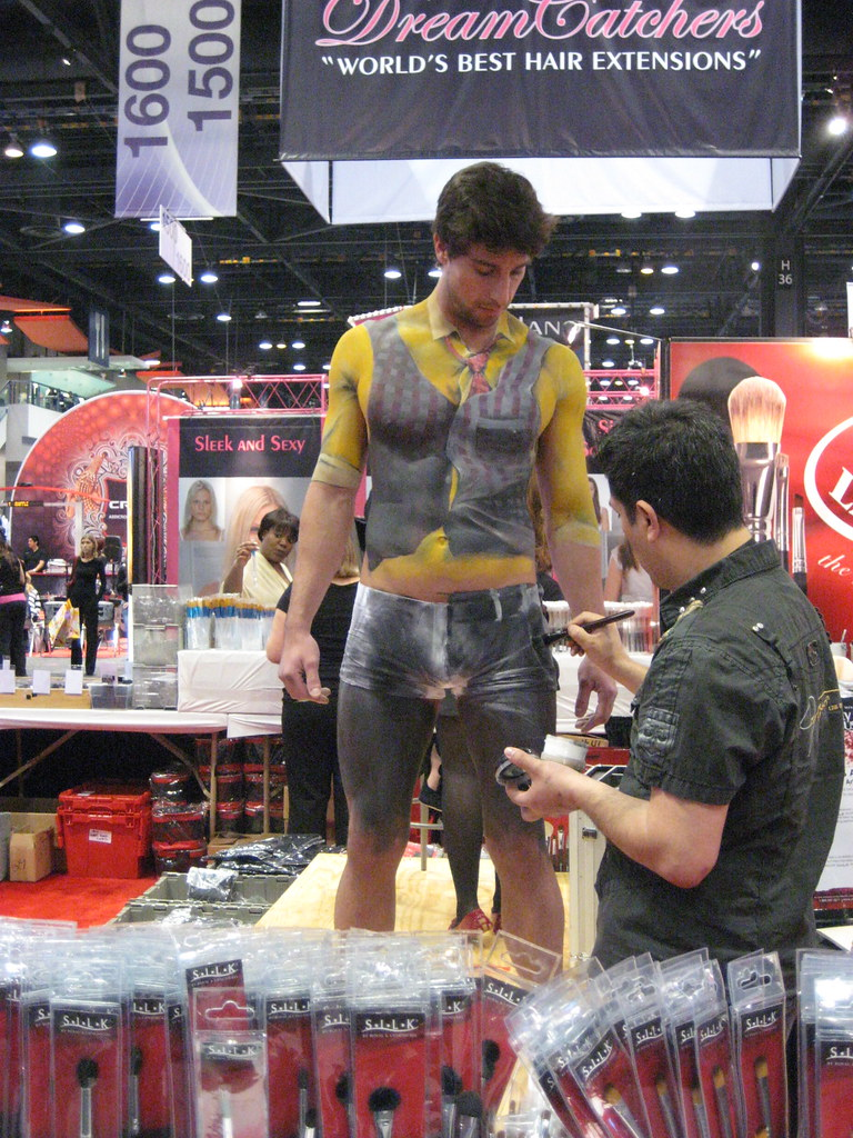 Being Body Painted