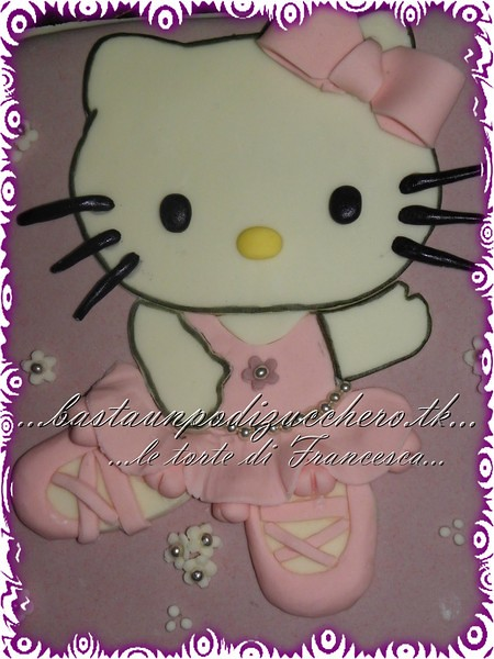 Hello kitty ballerina 25 bastaunpodizucchero flickr - Ballerine hello kitty ...