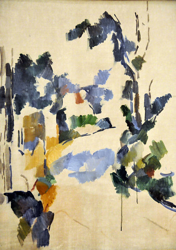 Paul Cézanne - Study of Trees at Harvard Art Museum Cambridge MA | by mbell1975