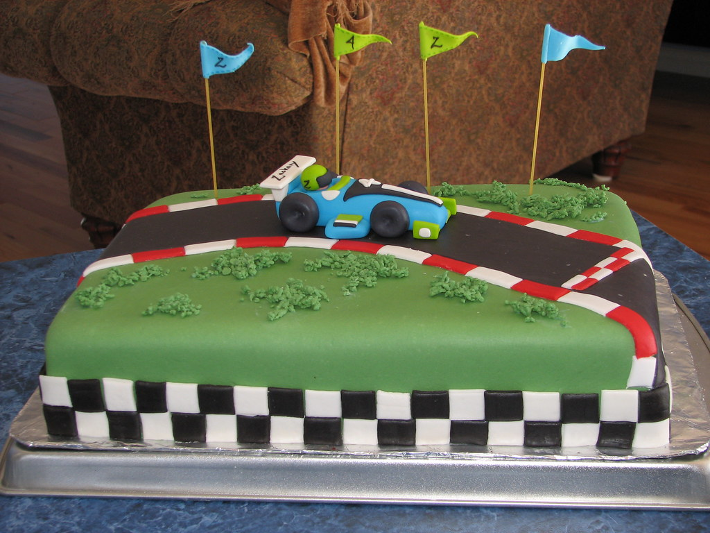 Images Of Birthday Cakes Of Cars