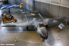 MM6152 - 13094 - Italian Air Force - De Havilland DH-113 Vampire NF54 - Italian Air Force Museum Vigna di Valle, Italy - 160614 - Steven Gray - IMG_1018_HDR