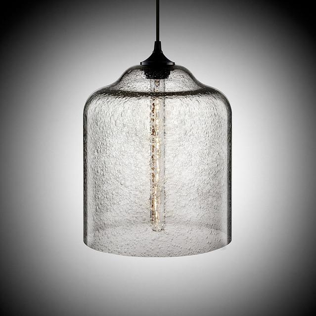 bell jar contemporary pendant lamp in effervescent flickr photo. Black Bedroom Furniture Sets. Home Design Ideas