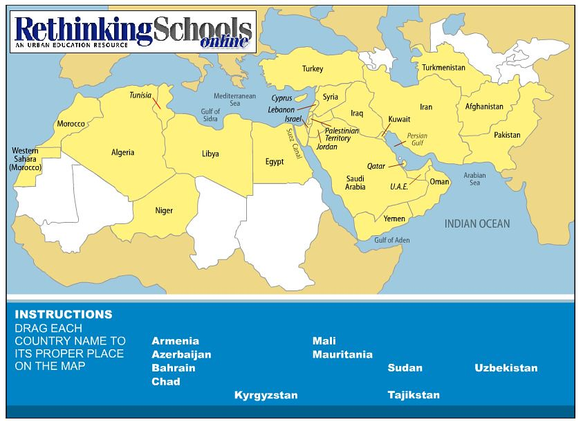North Africa Fun Facts For Kids