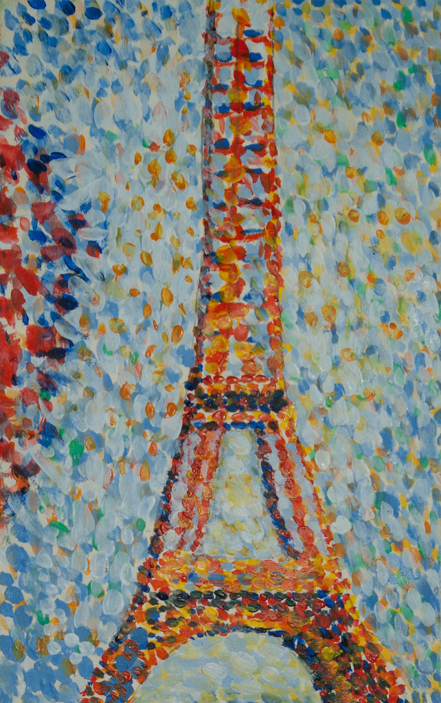 Georges Seurat Eiffel Tower The Eiffel Tower by Seurat