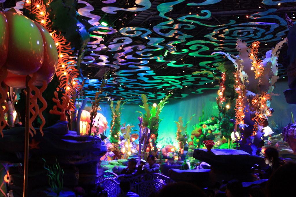 Triton S Kingdom Mermaid Lagoon Tokyo Disneysea E Chaya Flickr