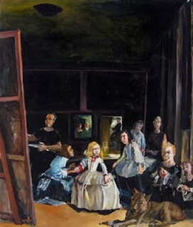 [ P ] Howard Podeswa - The Walkers (after Las Meninas (2005) | by Cea.
