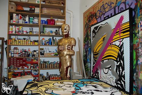 Dface studio visit