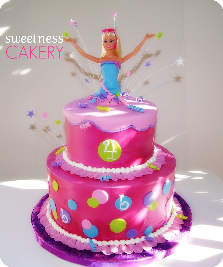 Latest Barbie Cake Design : Barbie Cake I ve wanted to do a