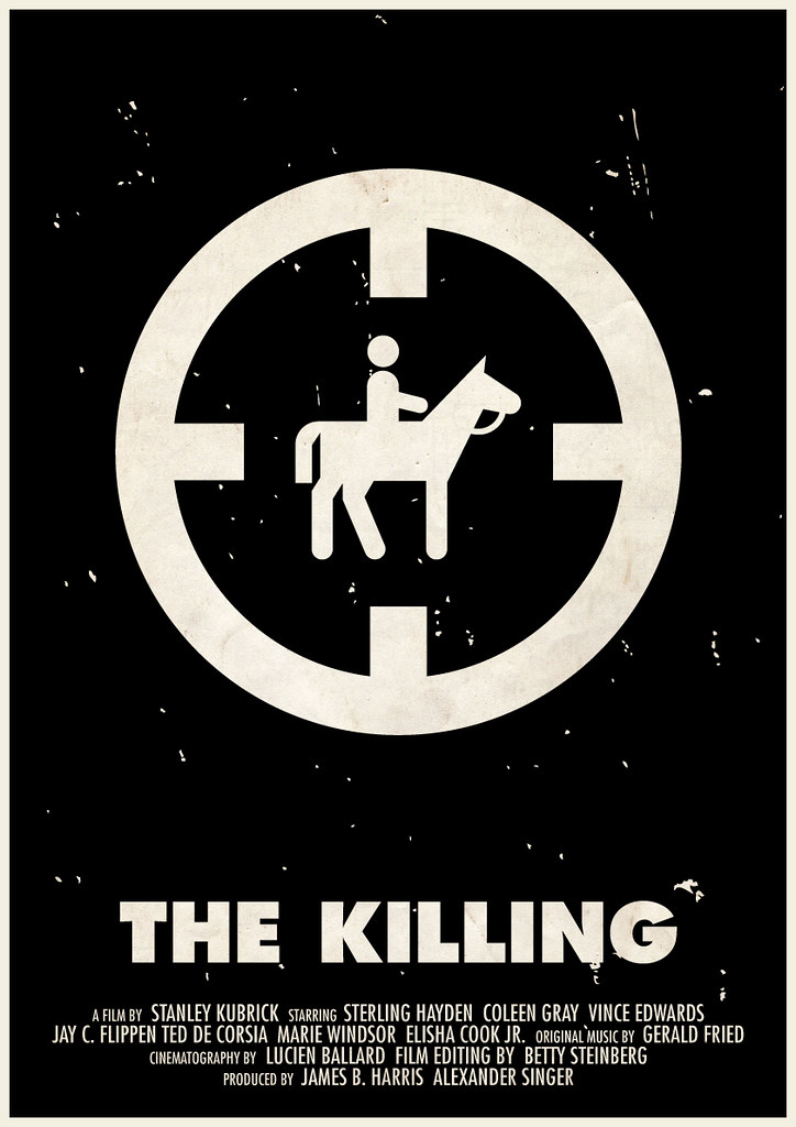 39 the killing 39 pictogram movie poster one of 11 kubrick pic flickr. Black Bedroom Furniture Sets. Home Design Ideas