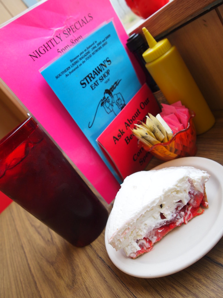 strawberry pie at strawn 39 s eat shop in shreveport the