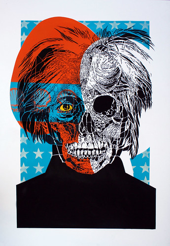 POP NEVER DIE | Portrait of Andy Warhol 8/15 | by orticanoodles