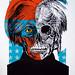 POP NEVER DIE   Portrait of Andy Warhol 8/15