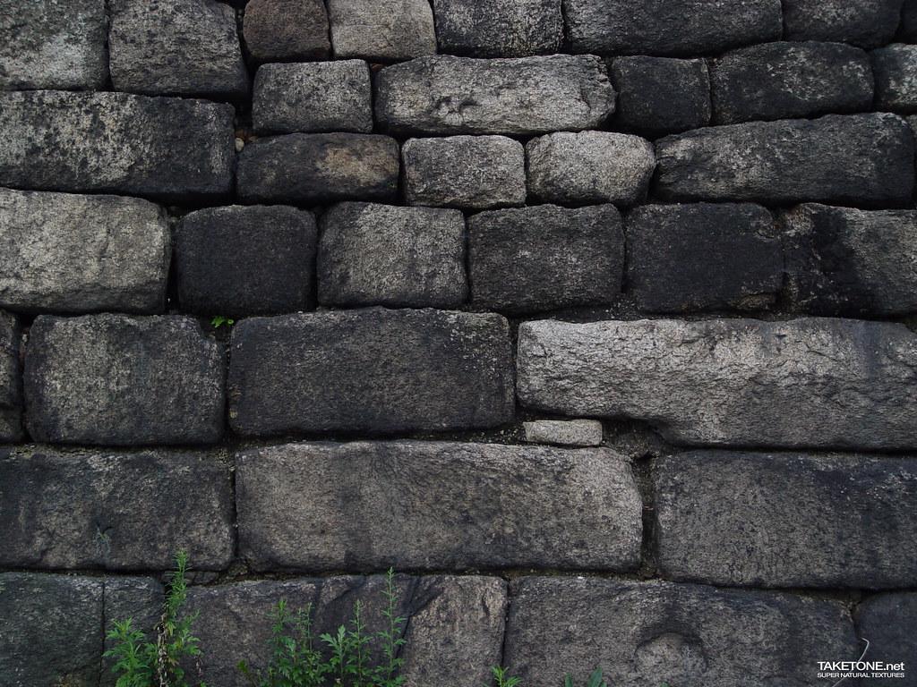 Old Stone Walls In Rhode Island