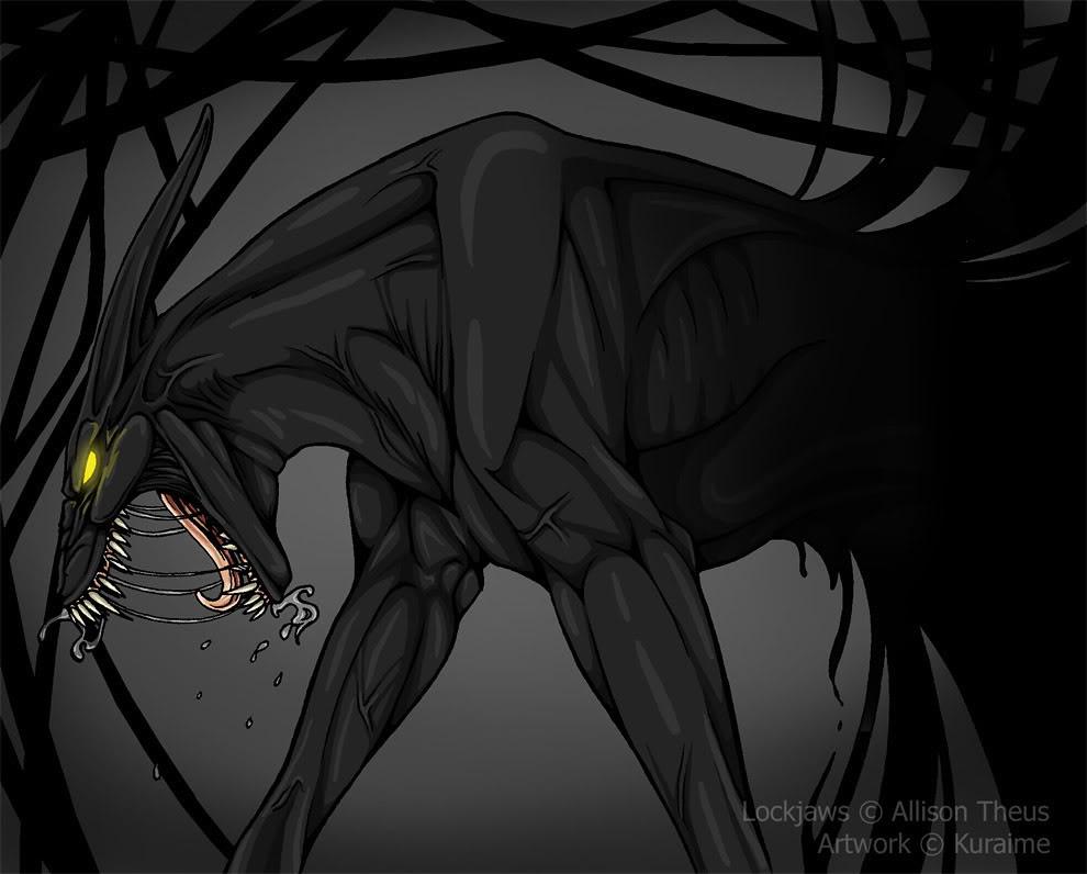 shadow creature demon york neely aka james bond master