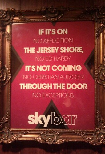 If it's on Jersey Shore, it's not coming through the door | by passiveaggressivenotes