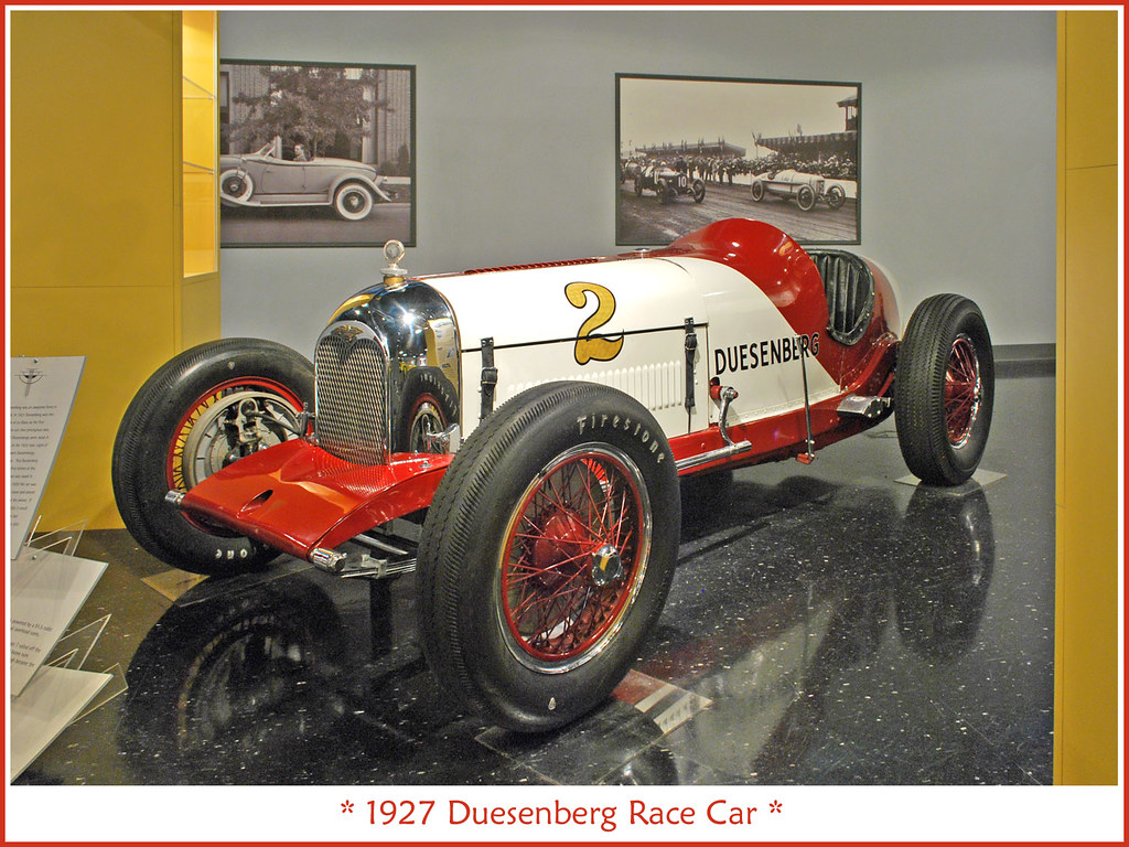 All Car Company >> 1927 Duesenberg race car | Return visit to the Auburn Cord D… | Flickr