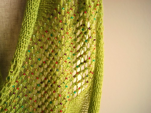 spring green cowl | by knittimo