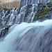 JEKA  World Photography: Mirror Lake Blanchard Springs / Waterfall / Arkansas / USA / America / Landscape / Moss