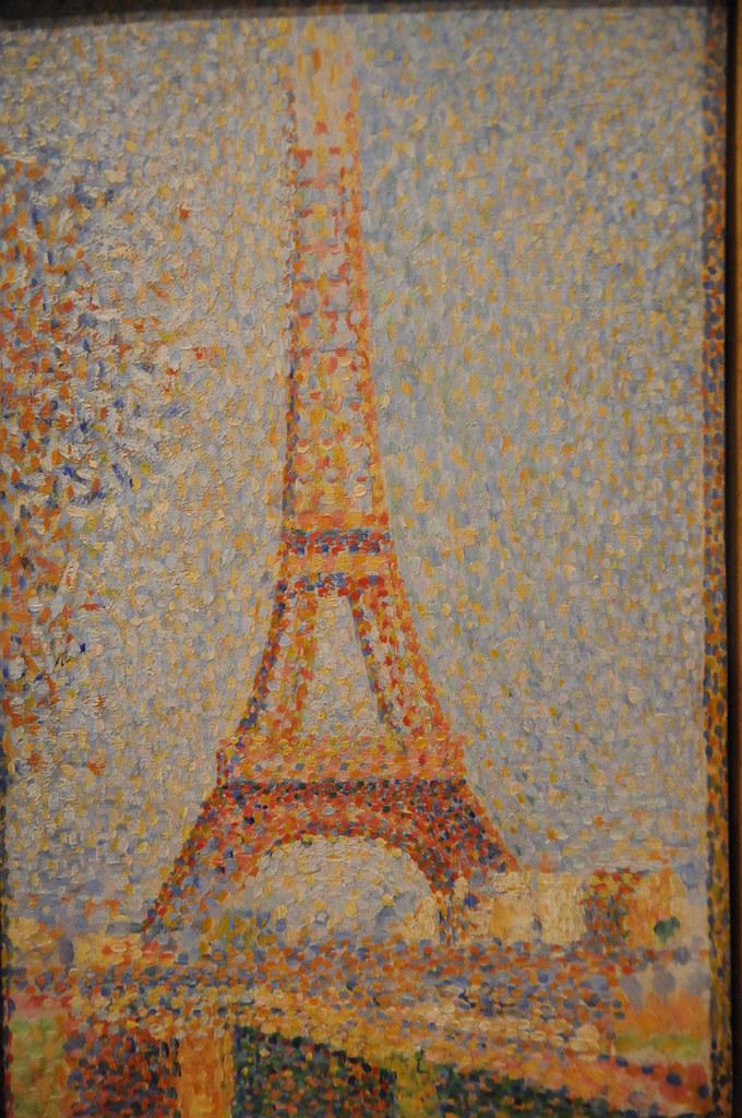 Georges Seurat Eiffel Tower Eiffel Tower Georges